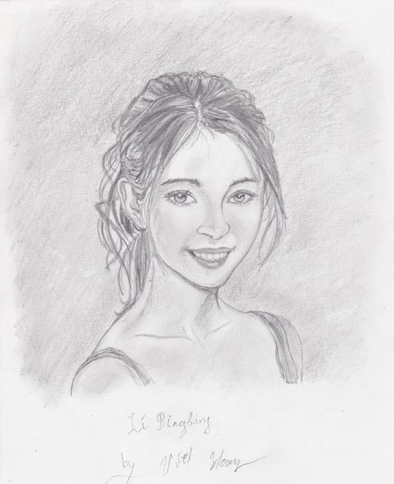 Li Bingbing by Noir